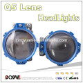 12V High low beam led car head light bi-beam CSP LED projector head light